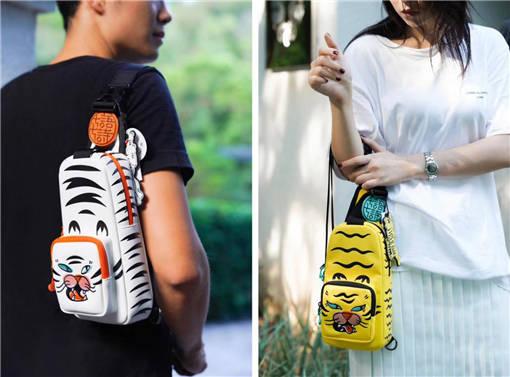 杨淑亭七语七诗时尚品牌的潮牌胸包-土流网